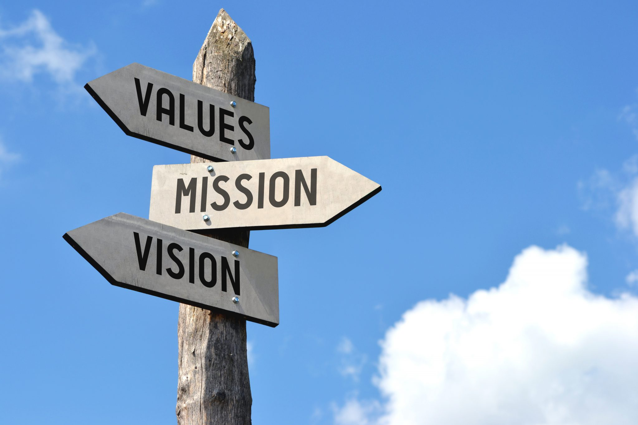 Values, Mission, Vision